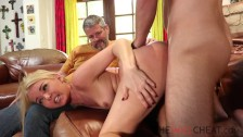 Aaliyah Love fucks her stepson and her husband watching them
